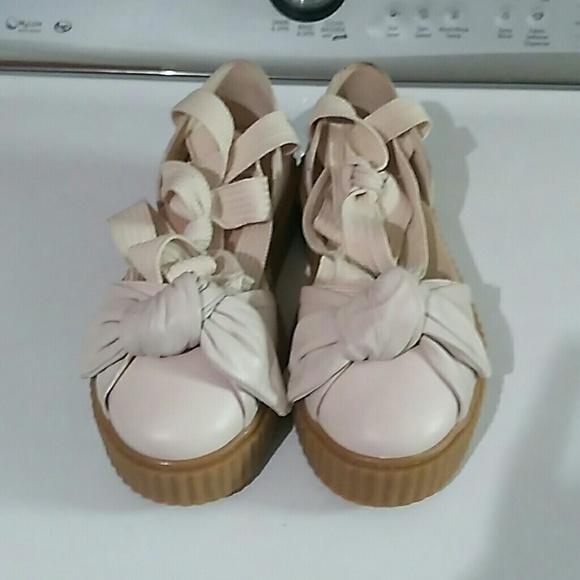 Puma fenty rihanna platform shoes sandals sz 9 95450fc33